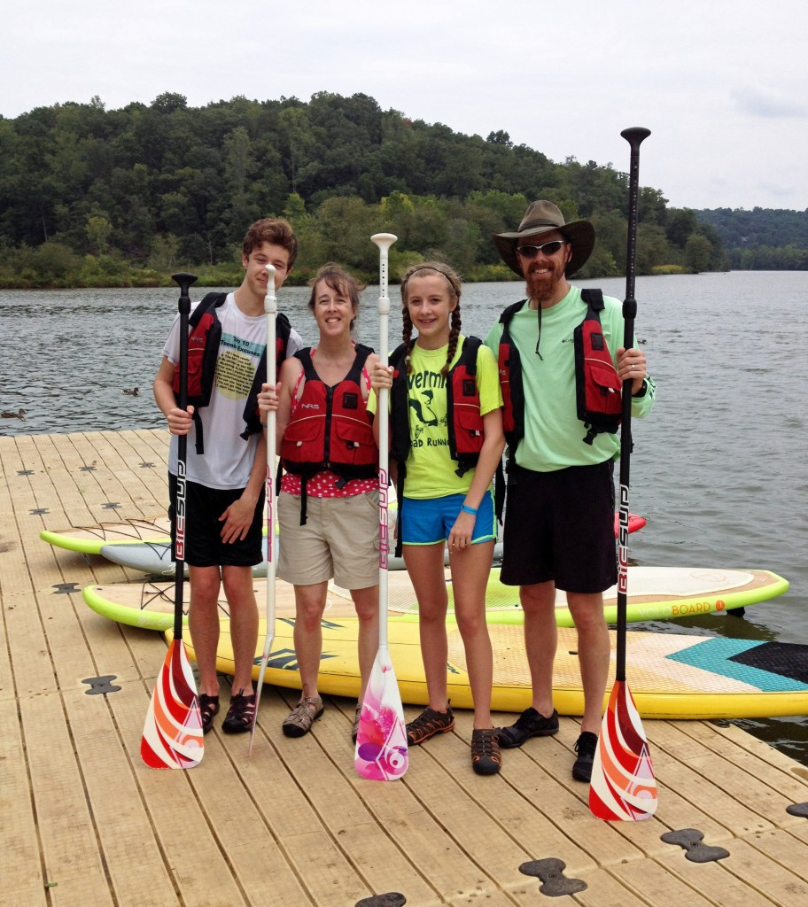 Stand Up Paddle Boarding at Morgan Falls Overlook Park