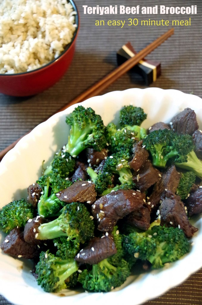 30 minute meals solution Teriyaki Beef and Broccoli Recipe