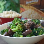 30 Minute Meals: Teriyaki Beef and Broccoli with Brown Rice