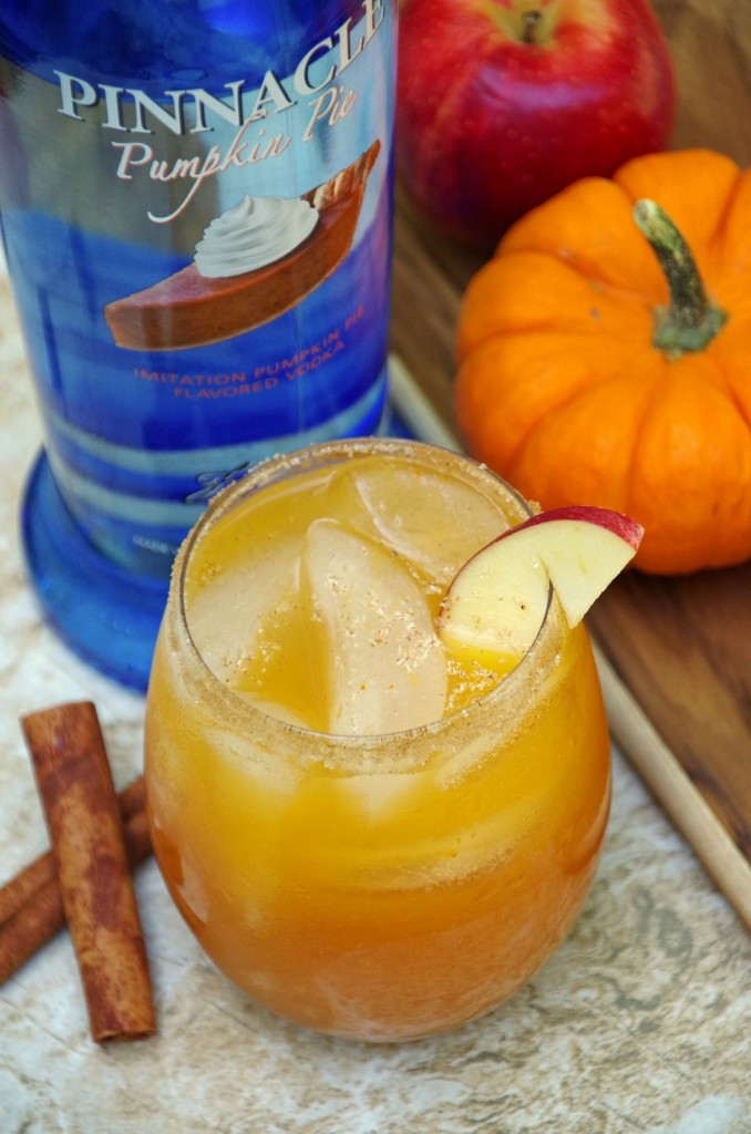 Pumpkin and Apple Cider Cocktail Recipe with Pinnacle Vodka