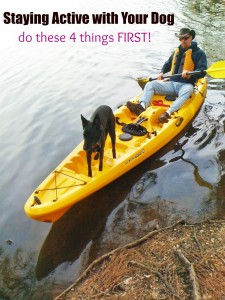 Staying Active with Your Dog and #PinnacleHealthyPets 2