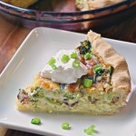 Loaded Baked Potato Quiche Recipe