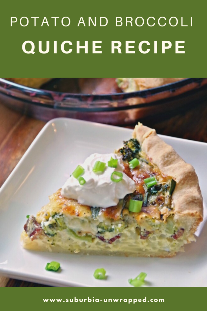 Potato and Broccoli Quiche Recipe