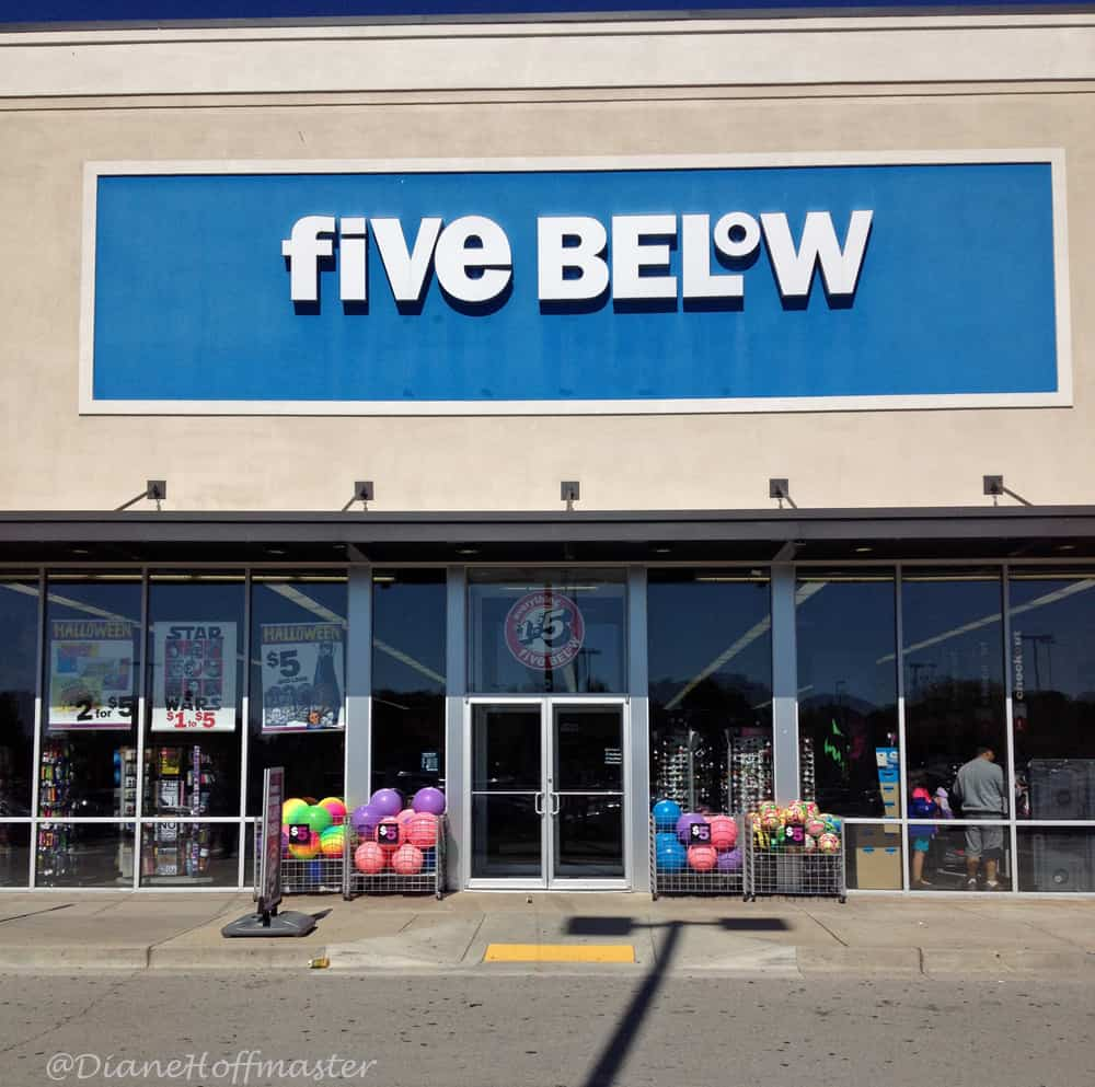 Shopping for Teens at Five Below