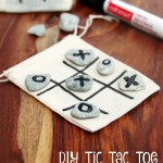 DIY Tic Tac Toe Game Board:  A Simple Gift for Only Pennies!