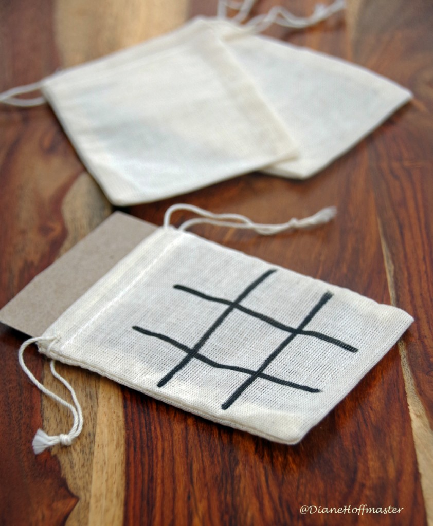 DIY Tic Tac Toe game Board