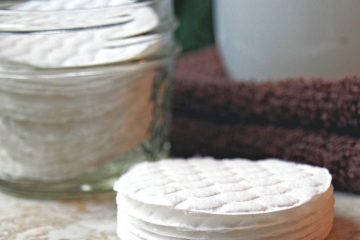 cotton pads for face cleaning