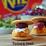 Thanksgiving Leftovers Party Tips and a Turkey & Sweet Potato RITZwich Recipe