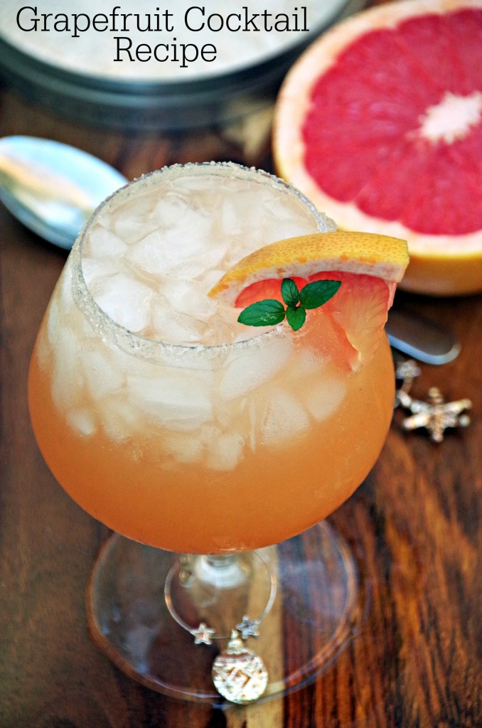Refreshing Grapefruit Cocktail Recipe 2