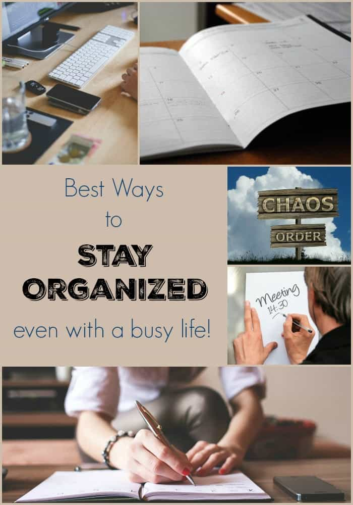 Best Ways to Stay Organized This Year