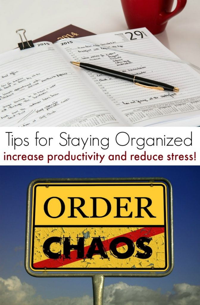 Best Ways to Stay Organized to Increase Productivity and Reduce Stress