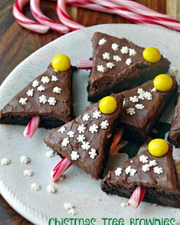 Easy Christmas Brownie Recipes 2