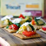 Christmas Party Planning Tips and Artichoke & Kale Bruschetta Topper Recipe