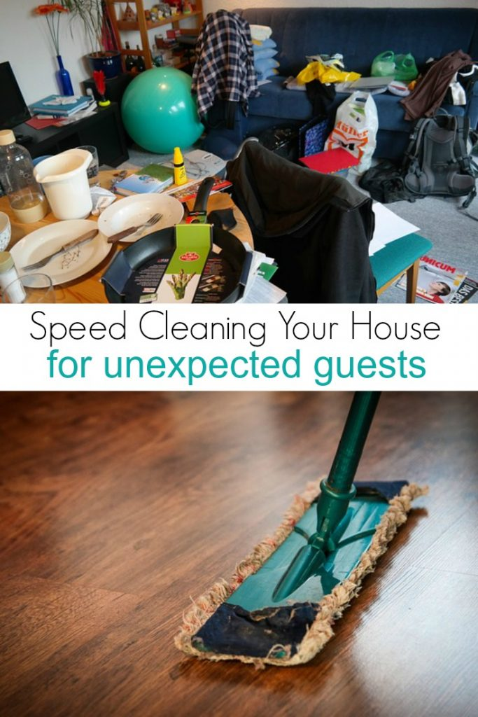 Speed Cleaning Your House