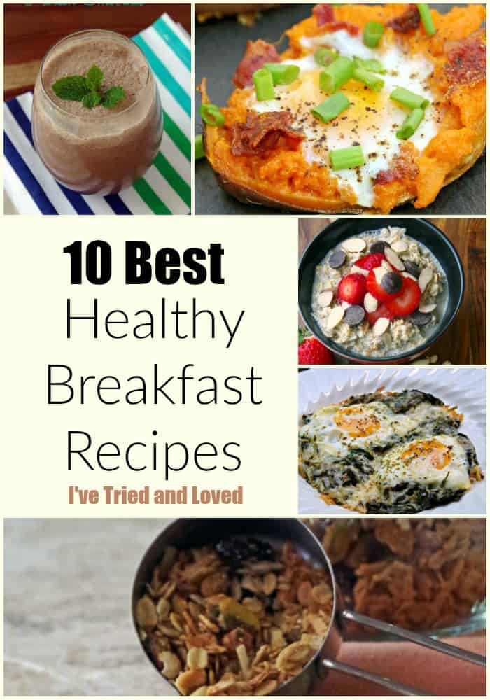 Best Healthy Breakfast Recipes I've Tried and Loved