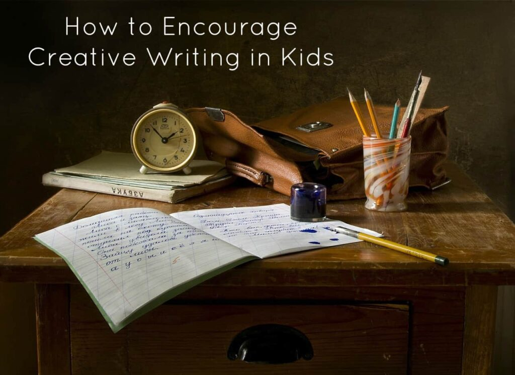 how to teach creative writing to kids