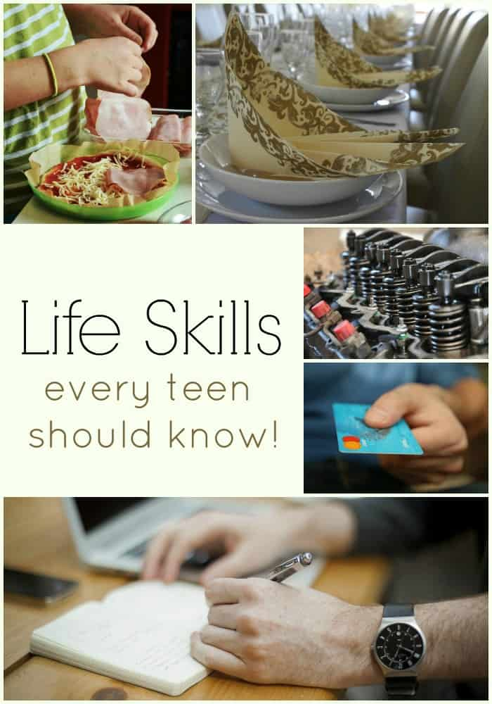 Life skills every teen should know