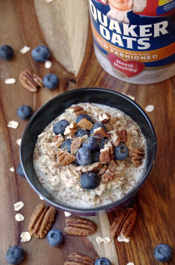Easy Overnight Oats Recipe with Quaker Oats