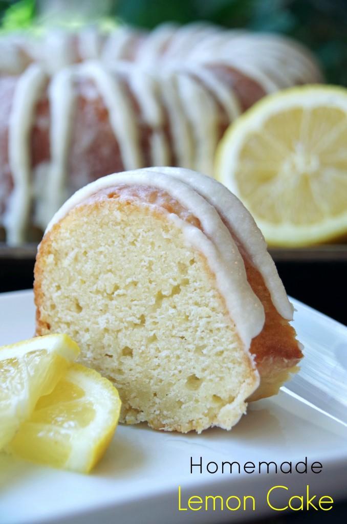 Easy Homemade Lemon Cake Recipe