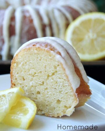 Easy Homemade Lemon Cake Recipe