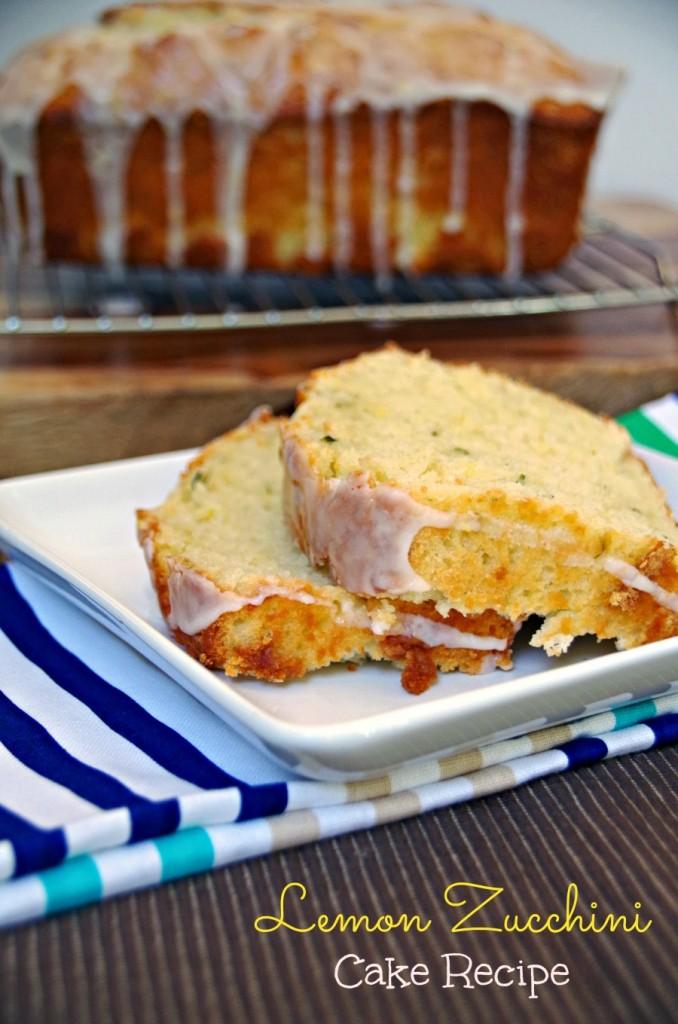 Zucchini and Lemon Cake Recipe