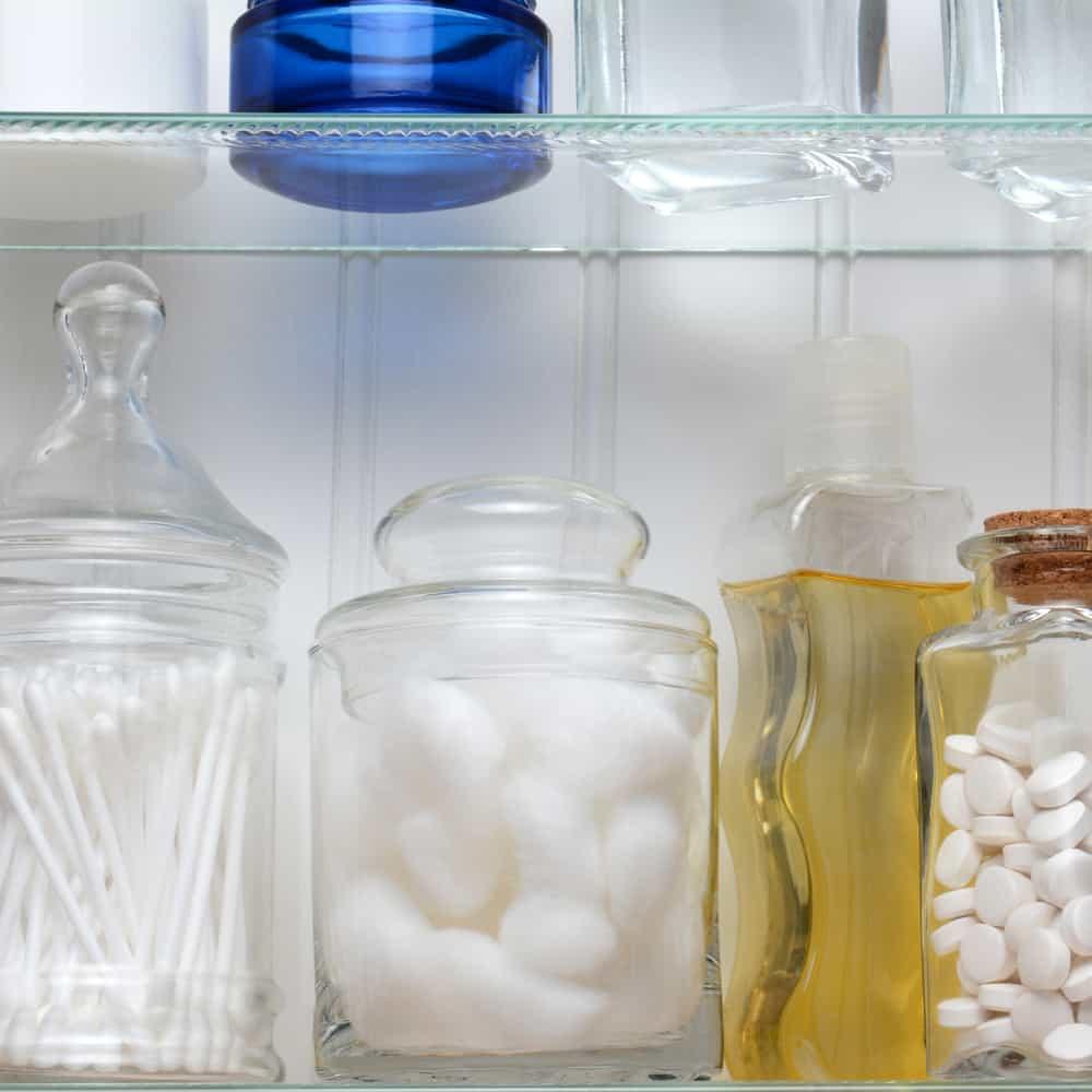 Medicine Cabinet Closeup