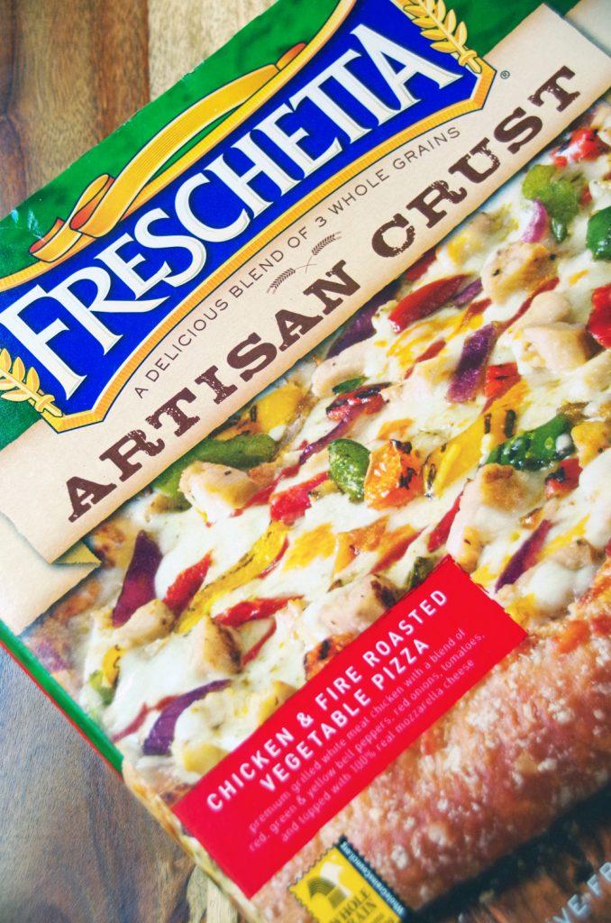 Freschetta Pizza and Salad Recipe