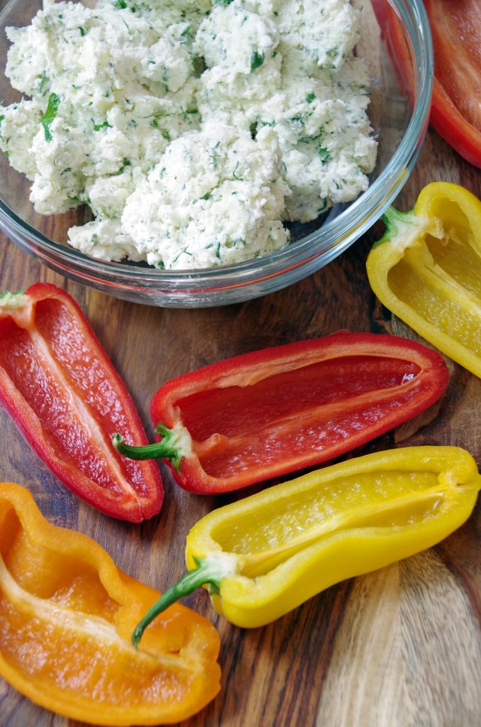 Stuffed Mini Peppers Appetizer make an easy appetizer recipe for your next get together!