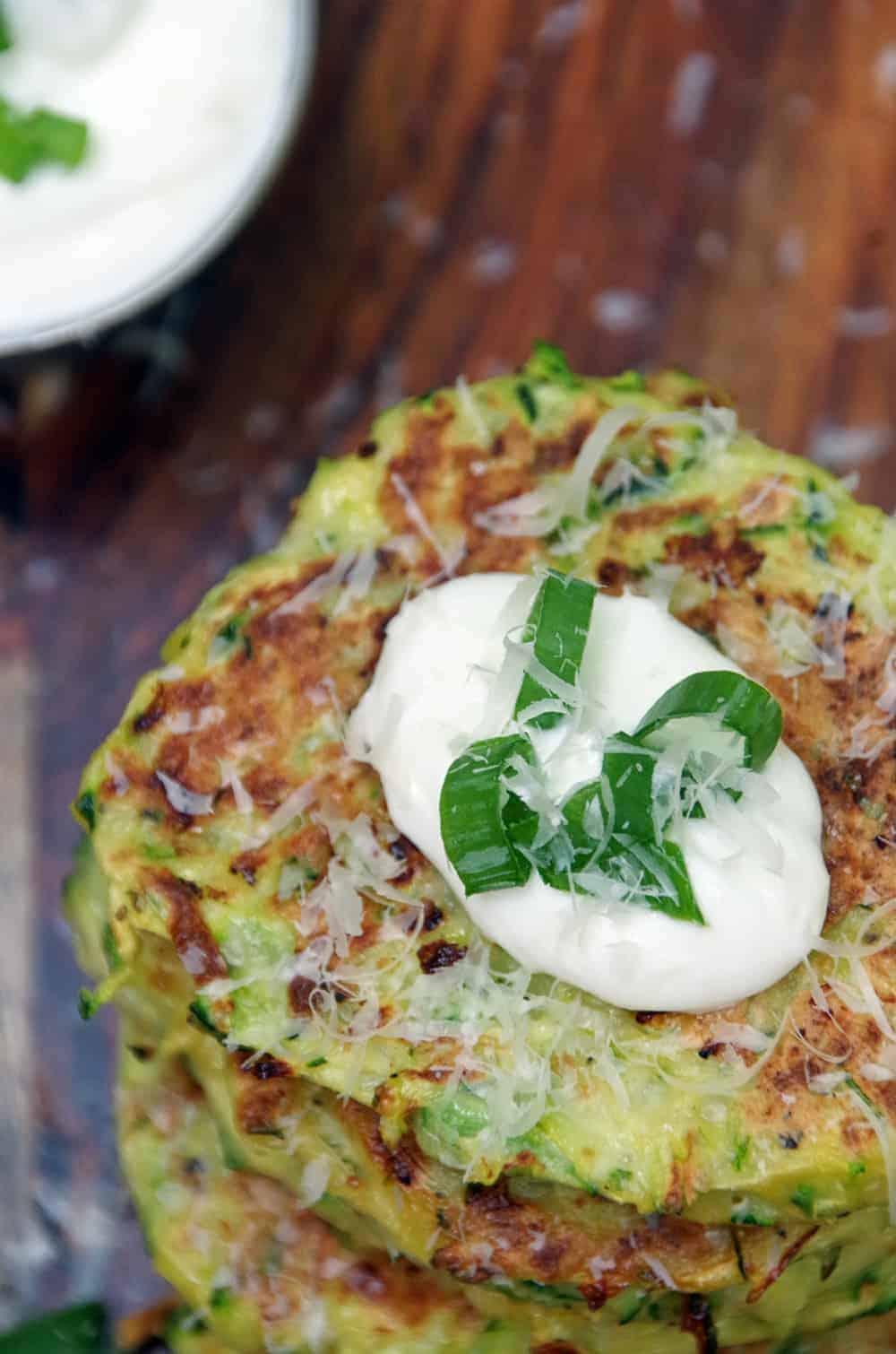 Easy Zucchini Fritters Recipe