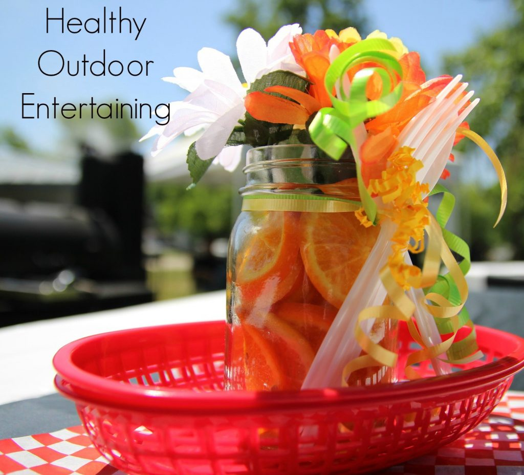 Healthy Outdoor Entertaining Tips