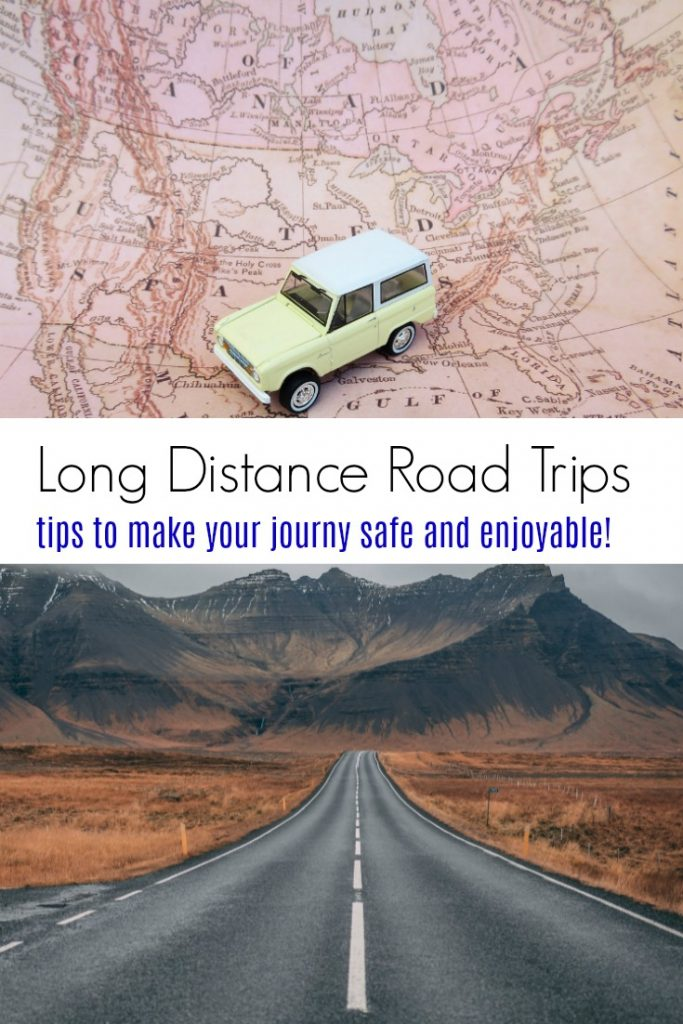 Tips for Making Long Distance Road Trips