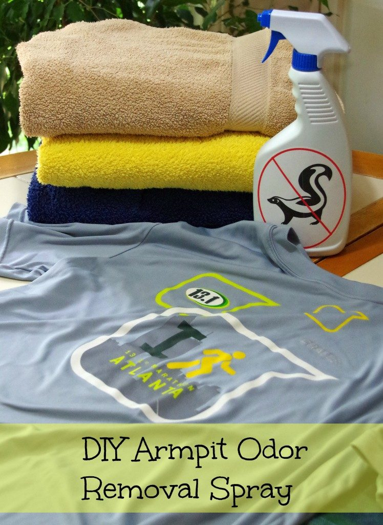 How to remove armpit odor