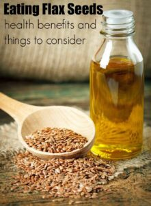 Heath Benefits of Flax Seeds and Why Eat Flax Seeds Daily.