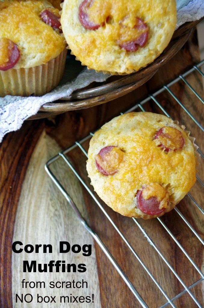 Corn Dog Muffin Recipe from Scratch