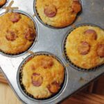 Easy Corn Dog Muffin Recipe from Scratch