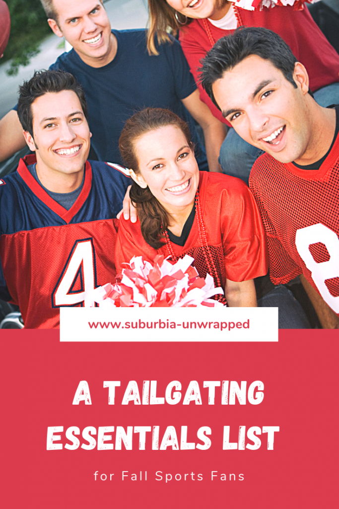 A tailgating essential list for fall sports fans