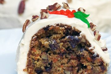 Homemade Carrot Cake Recipe with Chocolate Chips