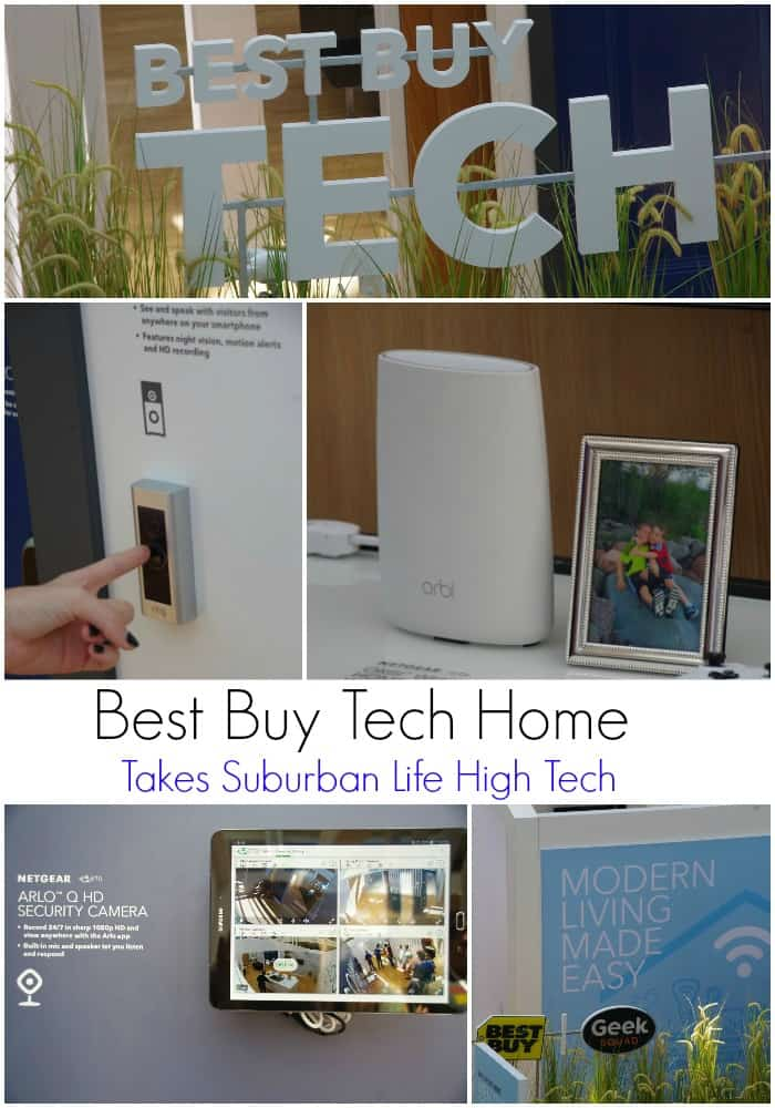 The Best Buy Tech Home Takes Suburban Life High Tech