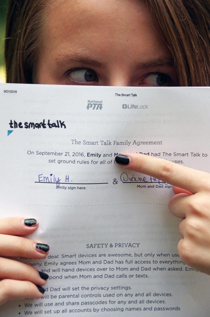 Keeping teenagers safe online