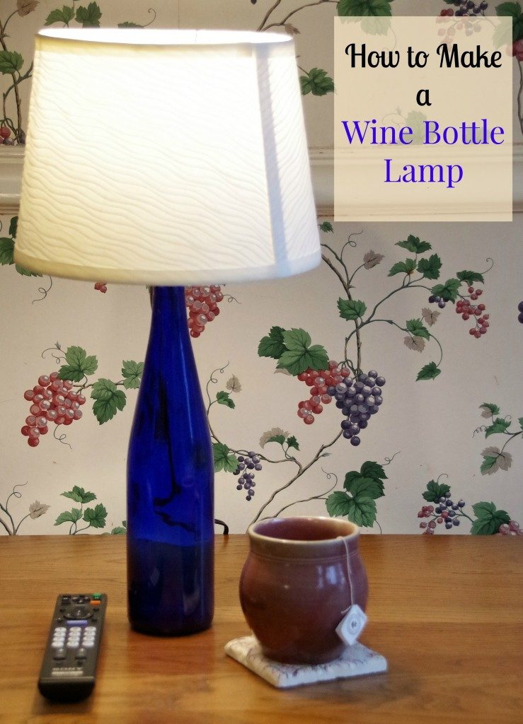 How to make a wine bottle lamp and ways to reuse wine bottles