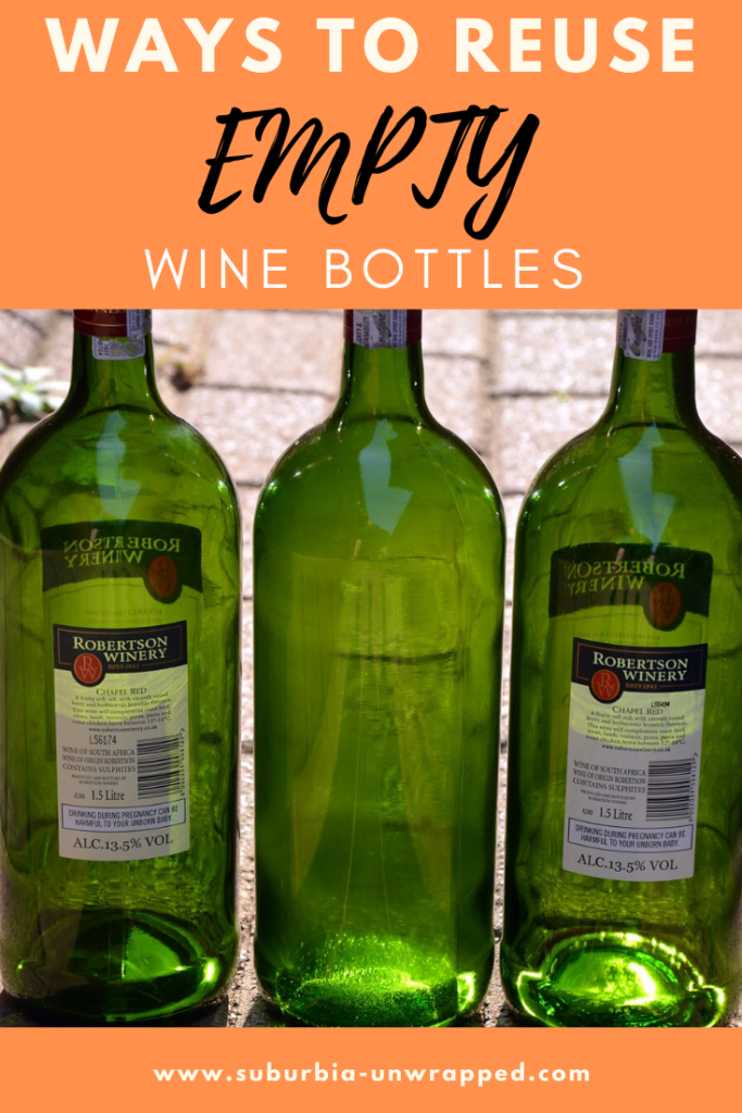 Ways to Reuse EMPTY wine bottles