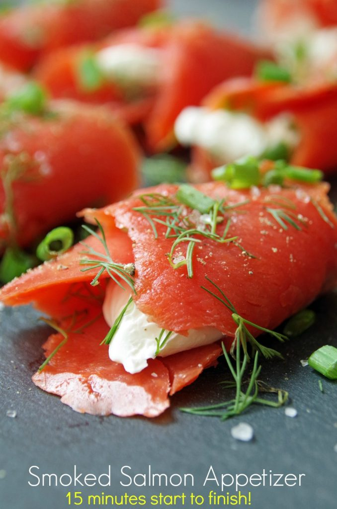Easy Smoked Salmon Appetizer Recipe in 15 Minutes or Less!