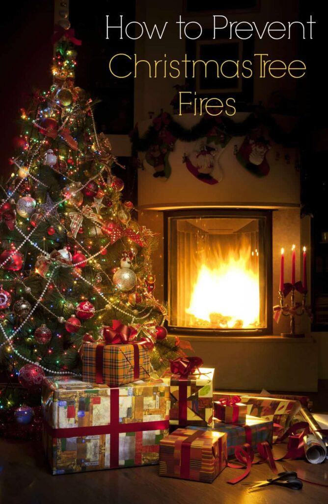 How to prevent Christmas tree fires for a happy and safe holiday season
