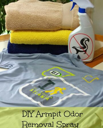 How to Remove Armpit Odor from Shirts