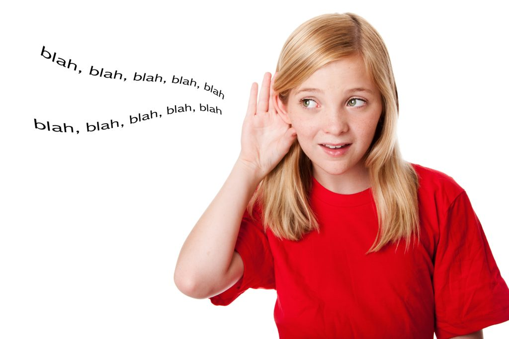 Hey Kids, Did You Hear That? Probably Not! How to get your kids to listen!