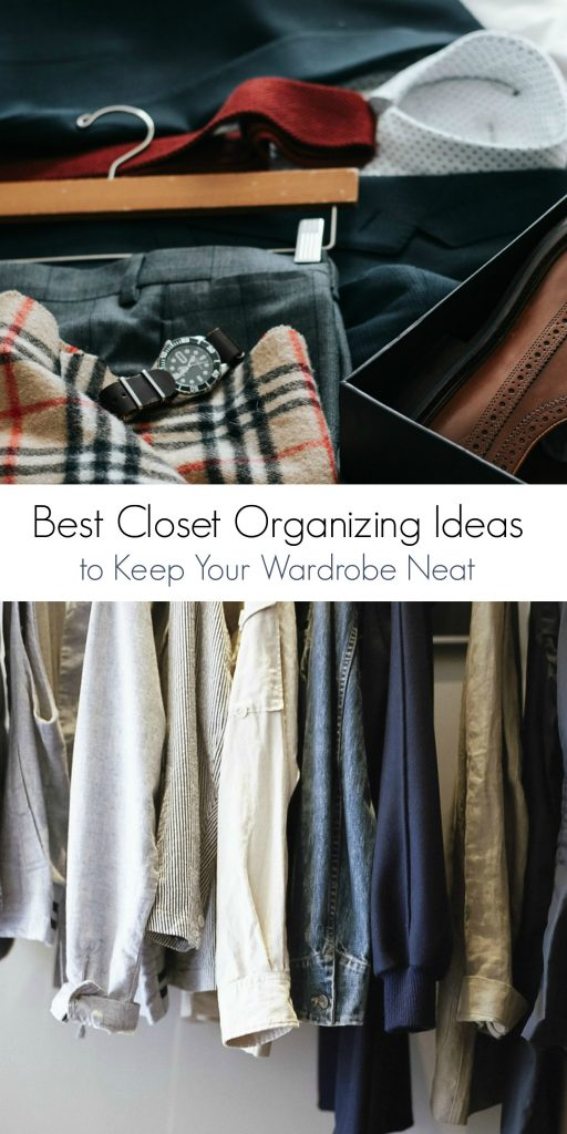Is your closet a mess and you need some closet organization tips? Here are some of the best closet organizing ideas to help keep your wardrobe neat!