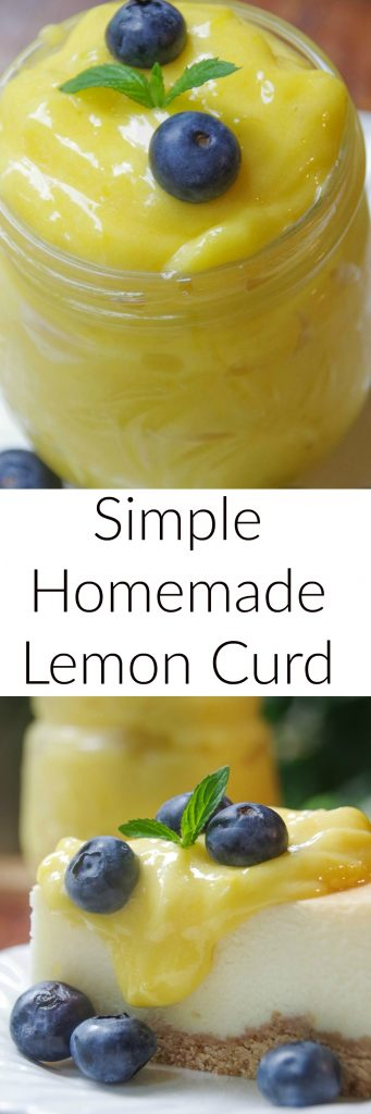 Looking for a delicious dessert? Try making this easy homemade lemon curd recipe!