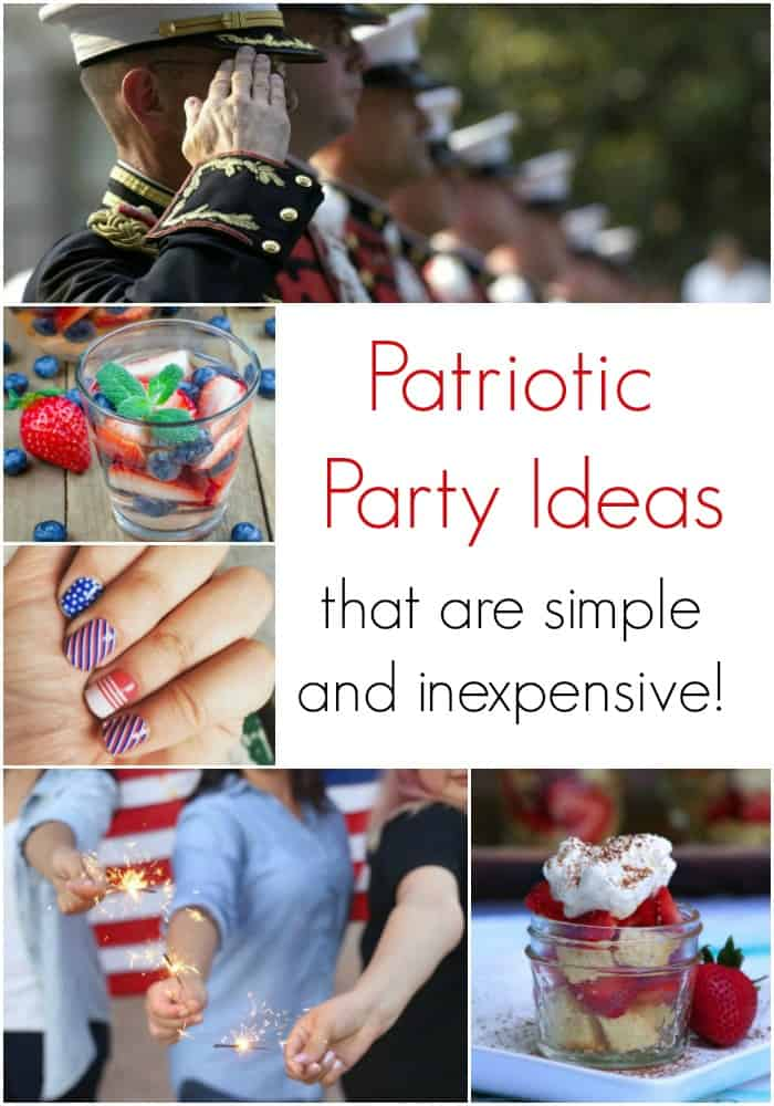 Patriotic Party Ideas that are Simple and Inexpensive