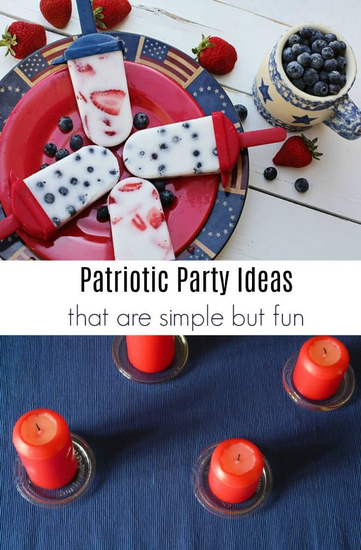 Whether you are celebrating the 4th of July, Memorial, Labor Day, Veteran's Day or any other patriotic holiday, having a party is always a fun way to enjoy it.  Here are a few patriotic party ideas that are easy and inexpensive.
