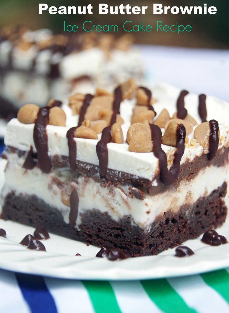 Peanut Butter Ice Cream Brownie Pie Recipes
